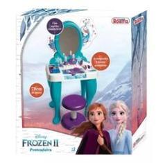 Imagem de Penteadeira Infantil Frozen 2 Com Acessórios 78cm - Rosita