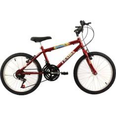 Bicicleta Fraida 18 Marchas Aro 20 Freio V-Brake