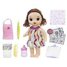 Imagem de Boneca Baby Alive Pequena Artista Hasbro