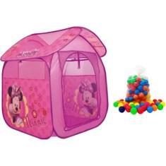Imagem de Barraca Infantil Minnie Com 50 Bolinhas Zippy Toys