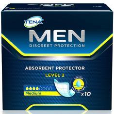 Imagem de Absorvente Tena Men Discreet Protection Level 2 Geriátrico Embalagem com 10 Unidades