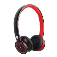 Headphone Bluetooth com Microfone C3 Tech BT-955B RD Gerenciamento de chamadas