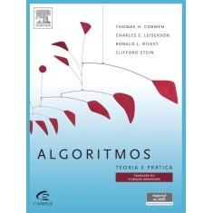 Algoritmos - Teoria e Prática - 3ª Ed. 2012 - Cormen, Thomas H.; Rivest, Ronald L.; Stein, Clifford; Leiserson, Charles E. - 9788535236996
