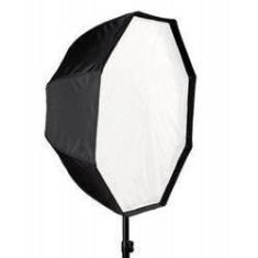 Imagem de Softbox Sombrinha 80cm Octagonal Para Iluminação De Estúdios Fotográficos
