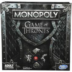 Imagem de Jogo Monopoly Game Of Thrones Hasbro
