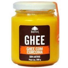 Imagem de Manteiga Ghee Com Curcuma 200 G Benni Alimentos