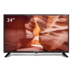 """TV LCD 24"""" Multilaser TL021 1 HDMI USB"""