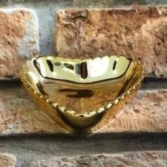 Imagem de Porta Jóias de Porcelana Cromado Coração