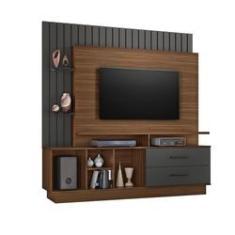 Imagem de Home para Tv Até 65'' Fascínio Rovere e Grafite JCM