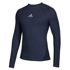 Imagem de adidas Soccer Alphaskin Sport Long Sleeve Climawarm Tee