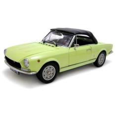 Imagem de 1969 Fiat 124 Spider BS1 Verde - Escala 1:18 - Sun Star