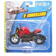 Imagem de Moto Ducati Monster 1200 S - 2 Wheelers - Fresh Metal - 1/18 - Maisto