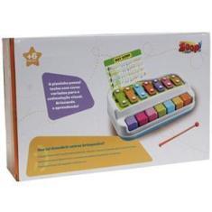 Imagem de Baby Xilofone Piano Teclado Infantil Para Bebês - Zoop Toys