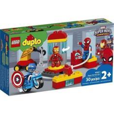Imagem de Lego Duplo Laboratório Super Heróis Marvel Disney 30 Pe Lego
