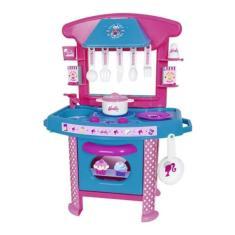 Imagem de Cozinha Infantil Barbie Cheff Com Acessórios 2228 - Cotiplás