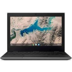 "Notebook Lenovo Chromebook E 81MA001TBR Intel Celeron N4020 11,6"" 4GB eMMC 32 GB Chrome OS"
