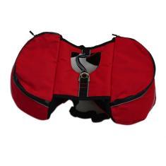 Imagem de Saco de mochila para animais de estimação Saco ao ar livre para cães Mochila para cães de fora Saco de transporte de alimentos para animais