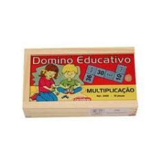 Imagem de Jogo Dominó Educativo Multiplicação