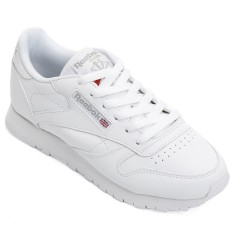bb69e2b24 Tênis Reebok Feminino Casual Classic Leather