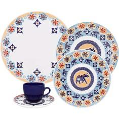 Aparelho de Jantar Redondo de Cerâmica 30 peças - Coup Shanti Oxford Porcelanas