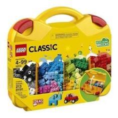 Imagem de Maleta Criativa Blocos De Montar Lego Classic 213 Peças