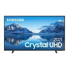 "Smart TV LED 55"" Samsung Crystal 4K HDR UN55AU8000GXZD"