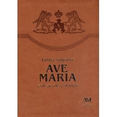 Bíblia Sagrada - Edição De Estudos - Ave Maria - 9788527613026