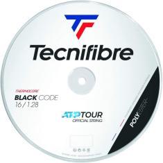 Imagem de Rolo Corda Raquete Tênis Tecnifibre Black Code 1.28 200M