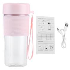 Imagem de Liquidificador portátil, 350Ml elétrico Usb Juicer Blender Cup Smoothies e Shakes Juicer Cup Mini liquidificador Garrafa Misturador de frutas para via