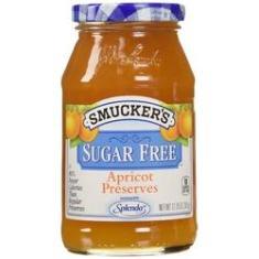 Imagem de Geleia de Damasco Apricot Sem Açúcar Smuckers 362g
