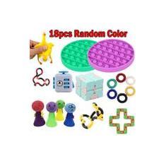 Imagem de 18pc Fidget Sensorial Toy Set Autismo Stress Relief Toy
