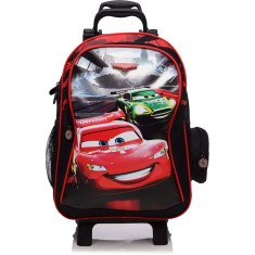 Mochila com Rodinhas Escolar Dermiwil Carros Racing 51389 G