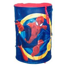 Imagem de Porta Objeto Portatil Saco de Brinquedo Homem Aranha Zippy