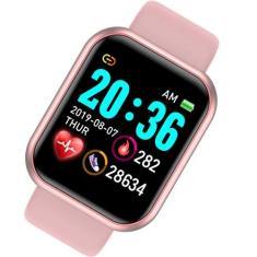 Imagem de Relogio Inteligente Smartwatch Feminino D20 Pro