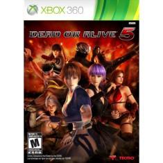 Jogo Dead Or Alive 5 Xbox 360 Tecmo