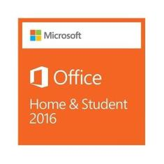 Microsoft Office 2016 Home And Student 32/64 Bits FPP - Cartão