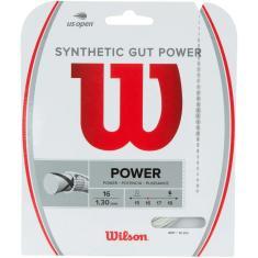Imagem de Corda para Raquete Wilson Synthetic Gut Power 16L 1,30mm