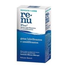 Imagem de Renu Plus 8ml - Gotas Lubrificantes Umidificantes- Renu - Gotas Umidificantes