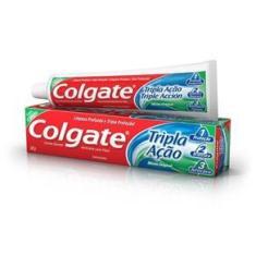 Imagem de Creme Dental Colgate Tripla Ação Menta Original Tamanho Família 180g