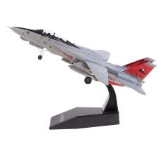 Imagem de 1: 100 EUA F14 Aviação Modelo Avião Lutador De Aeronaves Diecast Toy Presente
