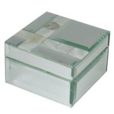 Imagem de Porta Jóias de Vidro Espelhado - Quadrado