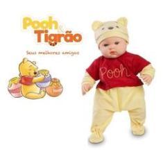 Imagem de Boneca Bebe Pooh Coleção Melhores Amigos Com Acessórios