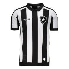 7814cefc89df9 Camisa Botafogo I 2017 18 Torcedor Masculino Topper