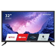 """Smart TV LED 32"""" Multilaser TL020 3 HDMI USB"""