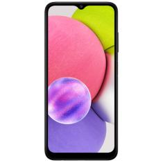 Smartphone Samsung Galaxy A03s SM-A037M 4 GB 64GB Câmera Tripla MediaTek MT6765 2 Chips Android 11