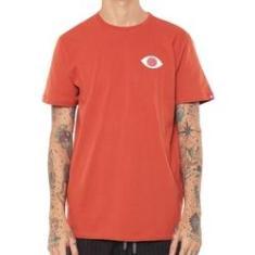 Imagem de Camiseta Element Masculina Palm El01a0593 Laranja Escuro