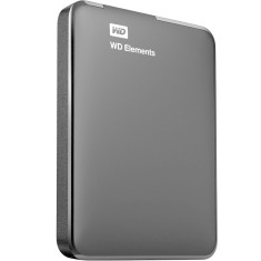 HD Externo Portátil Western Digital Elements WDBUZG0010BBK 1 TB
