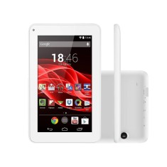 "Tablet Multilaser ML Supra 8GB LCD 7"" Android 4.4 (Kit Kat) 2 MP NB200"