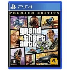 Imagem de Jogo Grand Theft Auto V Premium Edition PS4 Rockstar