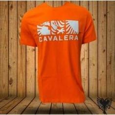 Imagem de Camisa Masculina Cavalera Partes Da Águia/laranja Citrico